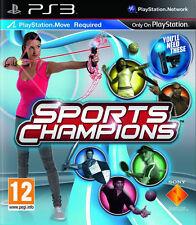 Sports CHAMPIONS PS3 MOVE JEU ~ (en très bon état)