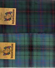 Tartan Sash Davidson Clan Ladies Scottish Wool Plaid