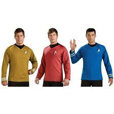 Starfleet Uniform Star Trek Movie Costume Officer Shirt Fancy Dress