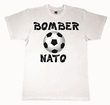 MAGLIETTA  DA BIMBO BIANCA CON STAMPA DIGITALE DIRETTA TITOLO:  BOMBER NATO