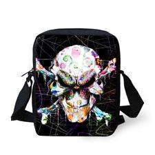 Purse Cute Zombie Skull Shoulder Cross Body Messenger School Bag For Kids Women