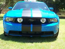 "10 2011 2012 2013 14 Mustang 10"" Plain Rally stripes Stripe Graphics Cobra GT500"