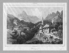 TYROL. Hattingen. Panorama. StSt. v. Lemaitre um 1838