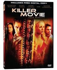 Killer Movie DVD horror film Kaley Cuoco and Paul Wesley of the Vampire Diaries