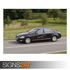 MERCEDES Benz 5 (AD143) POSTER AUTO-Foto immagine stampa poster art A0 a A4