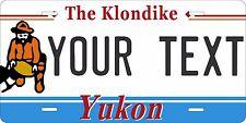 Yukon Terr 1991 License Plate Personalized Custom Car Bike Motorcycle Moped