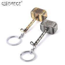 Hot Sale Vintage Thor Hammer Keychains Avengers Men Key Rings Movie Key Holder