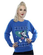 Disney Damen Mickey Mouse Christmas Tree Sweatshirt