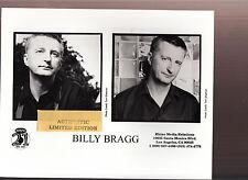 billy bragg limited edition press kit #2