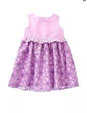 NWT Gymboree EGG HUNT Purple Organza Dress Easter Toddler Girls 12 18 24 2T 4T 5