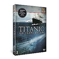 Titanic - 100 Years Below (DVD, 2012)