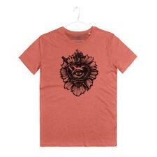Maglietta Uomo Tatuaggio Cuore Ex Voto Faith Sacred Heart Tattoo T-Shirt Man