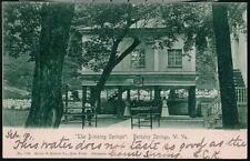 BERKELEY SPRINGS WV Drinking House Antique UDB Postcard