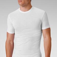 Mens Modal Crew Neck Short Sleeve T-Shirt Undershirt Body Slim Fit Tees YU5551