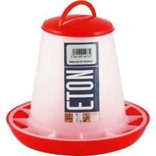 10kg 3kg Shorefields Eton Plastic Red /& White Poultry Feeder 1kg 6kg 10kg