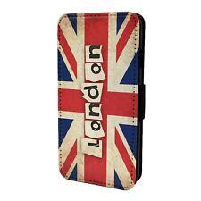 London British Flag Flip Case Cover For Mobile Phone - S5806