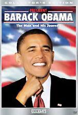 G&K DVDs - President Barack Obama - The Man And His Journey (DVD, 2009)