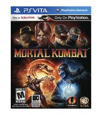 Mortal Kombat, (PS Vita)