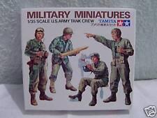 Militär Figuren U.S.Army Tank Crew  Tamiya 1/35