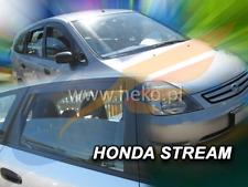 Windabweiser HONDA STREAM 5-türer 2000-2007 4-tlg HEKO dunkel Regenabweiser