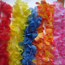 1 Garlands Choose 12 Colour Hawaiian Tropical Flower Lei, Hen Night  Party