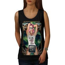 Wellcoda It's Like Jungle Fashion Womens Tank Top, Hype Athletic Sports Shirt