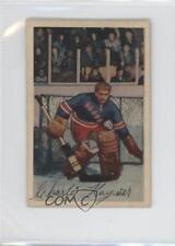 1952-53 Parkhurst #22 Chuck Rayner New York Rangers Hockey Card