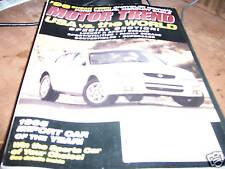 Motor Trend Magazine 2/1995 Import Car of Year Nissan