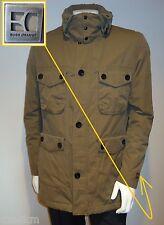 NWT Hugo Boss Orange Label By Hugo Boss Hooded Jacket in Brown-Khaki Size L