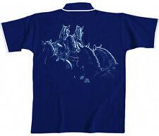 (10438) polo-shirt unisexe polo's taille s m l chevaux collection BOETZEL fahrsport