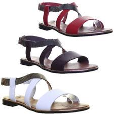Justin Reece Womens Ladies Leather Strap Sandal Snake Effect Size UK 3 - 8