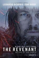 THE REVENANT DICAPRIO MOVIE POSTER  FILM A4 A3 ART PRINT CINEMA