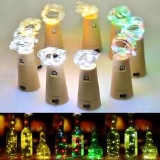 1Pc Cork Shaped LED Night Light Starry Light Wine Bottle Lamp for Xmas Deco