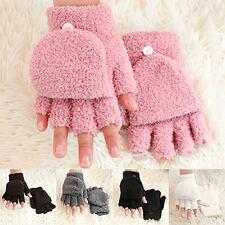 Fashion Women's Gloves Mitten Fingerless Flip Top Cover Cap Winter Warmer Cool