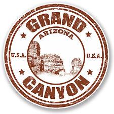 2 x Grand Canyon Arizona USA Vinyl Sticker iPad Laptop Travel Luggage Gift #4704