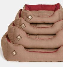 Heritage Houndstooth Rectangular Snuggle Dog Bed By Danish design - Fast Del