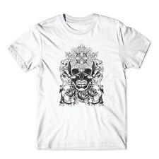 Last Hero T-Shirt. Skull Shirt 100% Cotton Premium Tee New