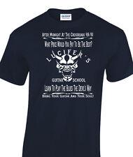 Robert Johnson Crossroads Inspired Lucifer Mens T-shirt Eric Clapton Delta Blues