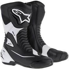 Alpinestars SMX S Motorcycle Boots Black / White