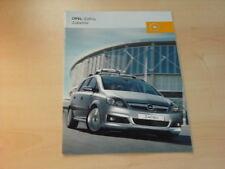 15120) Opel Zafira Zubehör Prospekt 2005