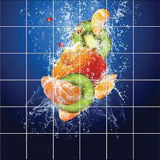 Adesivi piastrelle parete, maiolica,decocrazione cucina o bagno Fruits ref 1876