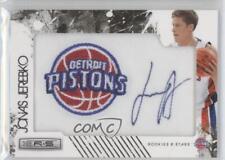 2009 Panini Season Update 170 Jonas Jerebko Detroit Pistons Auto Basketball Card