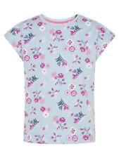 Name It NKFVIGGA TOP T- Shirt Mädchen Cashmere Blue, Stripes
