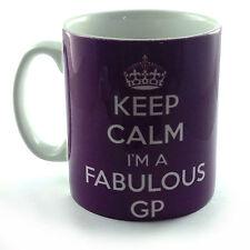 KEEP CALM I'M A FABULOUS GP GIFT MUG CUP DOCTOR MEDIC MEDICAL STUDENT MEDICINE
