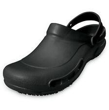 Men's Restaurant Oil Resistant Kitchen Work Shoes Loafer Slip-On Skid Non-Slip