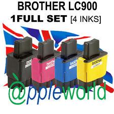 1 Set Completo (4 inchiostri) di LC900 Compatibili Cartucce Di Inchiostro (non FRATELLO OEM)