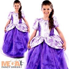 Royal Fairy Tale Princess Girls Fancy Dress Romany Book Day Kids Childs Costume