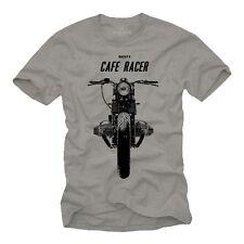 Motorrad T-Shirt Männer Cafe Racer Bobber Chopper Rocker Hot Rod Rockabilly bMw