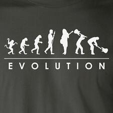 EVOLUTION GUITARIST funny music band guitar hero humor rock n roll T-Shirt