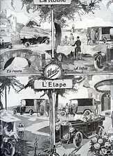 1924 Publicité Automobiles UNIC